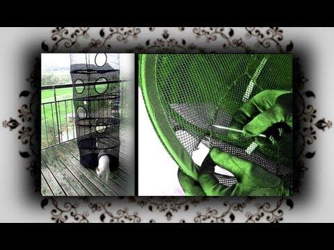 DIY 🙀 Katzen Klettertunnel Kletterturm  |  handmade Cat Scrambling tube