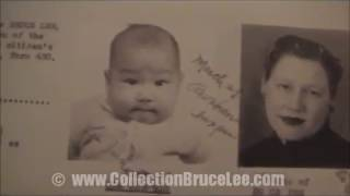 "Bruce Lee Birth Live Certificate & Naturalization ""Archive Very Rare"" 1940's"