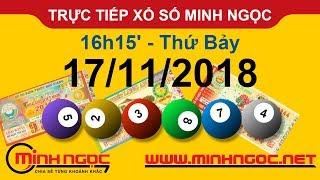 Xổ số Minh Ngọc™ Thứ Bảy 17/11/2018 - Kênh chính thức từ Minhngoc.net.vn