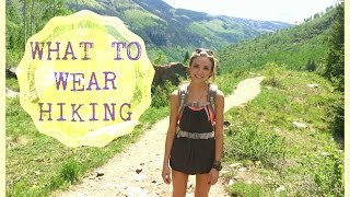 What To Wear Hiking | OOTD