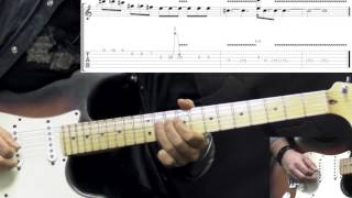 Gary Moore   The Sky Is Crying Part1   Blues Guitar Lesson (wTabs)