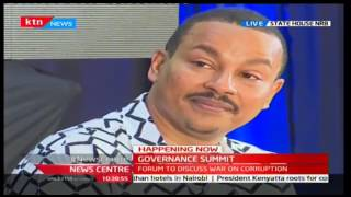 News Center: President Uhuru's address at the State Summit on Corruption and Accountability