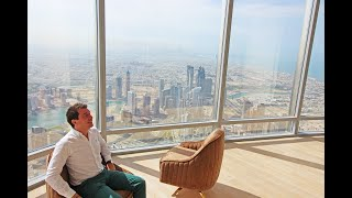 The Worlds Highest Offices In The Worlds Highest Tower ! The Corporate Suites At Burj Khalifa !!