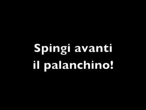 SPINGI AVANTI IL PALANCHINO!