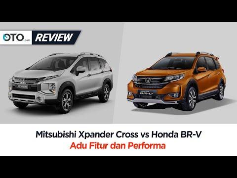 Mitsubishi Xpander Cross vs Honda BR V | Review | Tampilan Bukan Segalanya | OTO.com