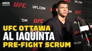 UFC Ottawa: Al Iaquinta Talks Donald Cerrone, Khabib, And More - MMA Fighting