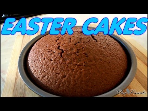 Video Chocolate Easter Cakes Recipe