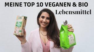Meine TOP 10 veganen & bio Lebensmittel I StaplesI + Bio Food Haul Vlog