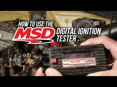 How to Use MSD's Ignition Tester