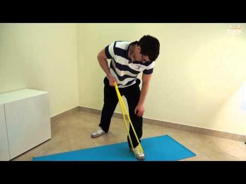 Rozwijanego ćwiczenie dla każdego mięśnia pleców