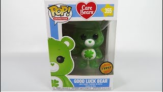 Limited Edition Chase Funko Pop Vinyl Care Bears Good Luck Bear Unboxing