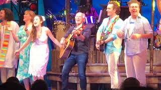 Margaritaville with Jimmy Buffett and the cast of Escape to Margaritaville
