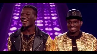 "Reggie n Bollie sings ""Locked Away"" by R City - Week 6 - Live Shows - The X Factor UK 2015"