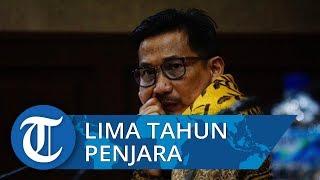Bowo Sidik Divonis 5 Tahun Penjara serta Hak Politik Dicabut