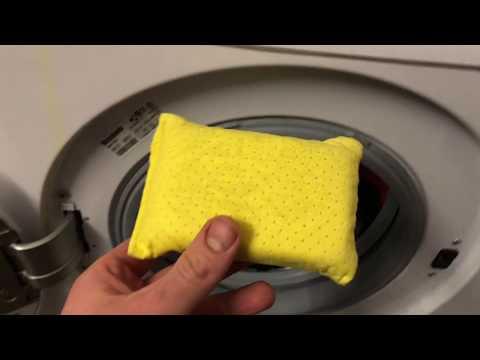 Anti Beschlag Schwamm waschen in Waschmaschine 40 oder 60 Grad Wäsche Autoschwamm reinigen Anleitung