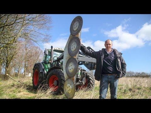 Astsäge oder Astschere für Windschutzstreifen-Pflege | GreenTec (DE)