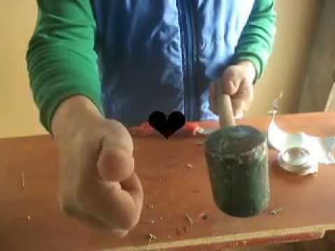 reciclar  plástico y hacer un martillo o mazo video No 12