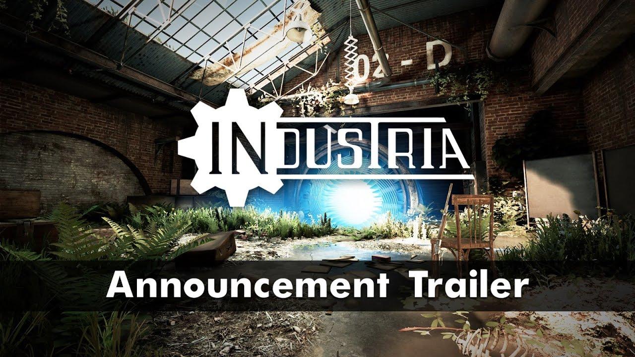 Анонсирующий трейлер игры Industria