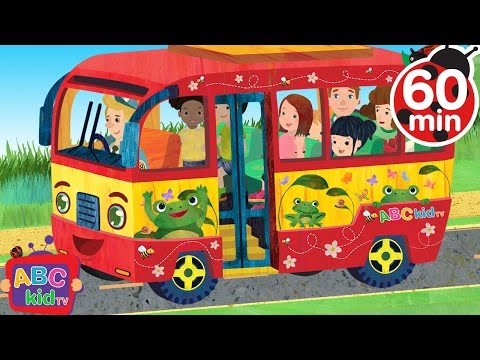 Wheels on the Bus | +More Nursery Rhymes & Kids Songs - CoCoMelon