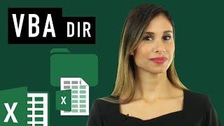 Excel VBA: Check If File or Folder Exists (DIR) - Open File or Create Folder