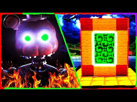 Minecraft FNAF - How to Make a Portal to THE JOY OF CREATION