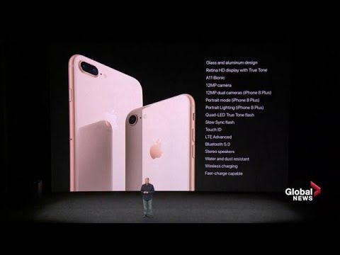 Apple iPhone 8 and 8Plus introduced with new features