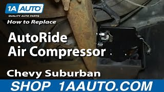 Replace Your Suspension Air Compressor Easily