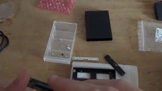 Laptop Festplatte in ein externes Gehäuse einbauen