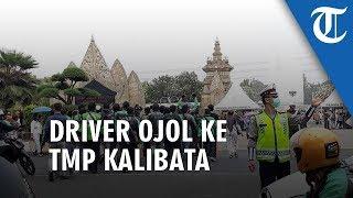 Saat Driver Ojol Ikut Beri Penghormatan Terakhir kepada BJ Habibie di TMP Kalibata