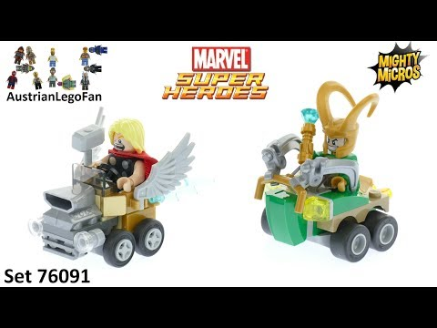 Vidéo LEGO Marvel Super Heroes 76091 : Mighty Micros : Thor contre Loki