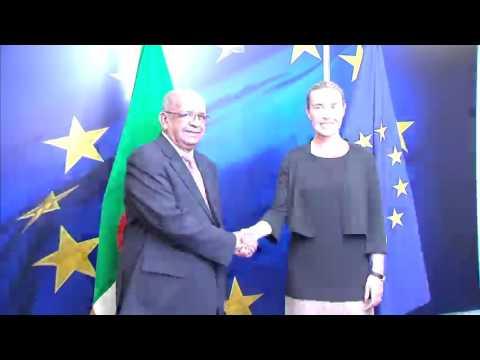 Rencontre Mogherini - Messahel à Bruxelles