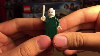 LEGO Fantastic Beasts Побег Гриндельвальда, Минифигурки Дамблдора и Волан-Де-Морта