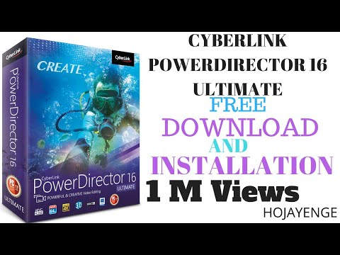 cyberlink powerdirector 16 activation key download