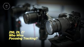 Nikon Z50, Z6, Z7 Who's Best At Face, Eye & Subject Tracking? | Matt Irwin