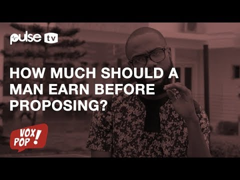 How Much Should A Man Earn Monthly Before Considering Marriage? | Pulse TV