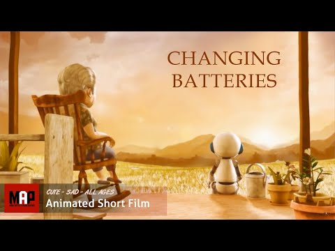 """CGI 3D Animated Short Film """"CHANGING BATTERIES"""" Emotionally Cute Animation by FCM MMU"""