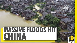 Chinese cities along the river Yangtze on red alert