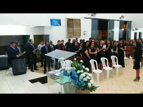 Conjunto vocal Novas de Paz congregação Alto Alegre. (anos 90)