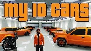GTA5   My 10 Car Garage   (EC)
