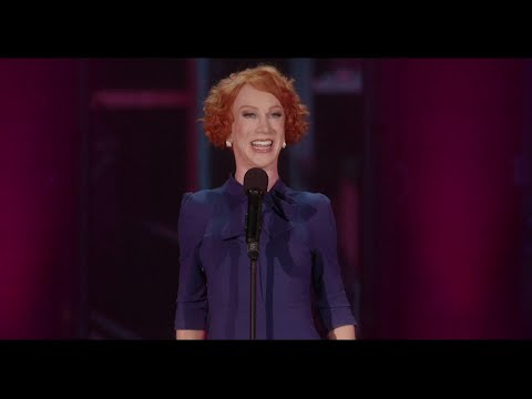 """Kathy Griffin says two days into the fallout of her 2017 photo posing with a fake severed head of President Trump, she began filming what was happening. She was losing jobs and the subject of a government investigation into whether she was a credible threat. The result is, """"Kathy Griffin: A Hell of a Story"""" that's part documentary, part comedy special. Fathom Events will show it in 700 theaters on July 31. (July 28)"""