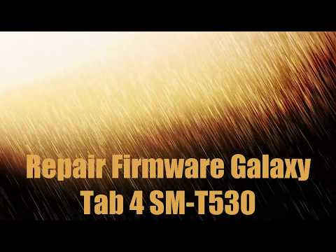 How to Samsung Galaxy Tab 4 10 1 SM T530 Firmware Update
