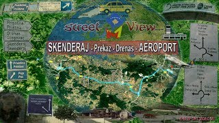 Rruga: Skenderaj - Prekaz - Drenas - Aeroporti (M1 Street View)