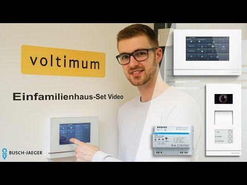 Busch-Jaeger Türsprechanlage und Busch-SmartTouch KNX-Panel | Voltimum Produkttest 2018