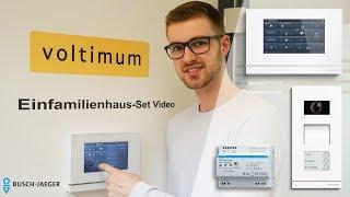 Busch-Jaeger Türsprechanlage und Busch-SmartTouch KNX-Panel   Voltimum Produkttest 2018