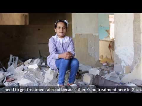Pediatric Oncology Department in Gaza
