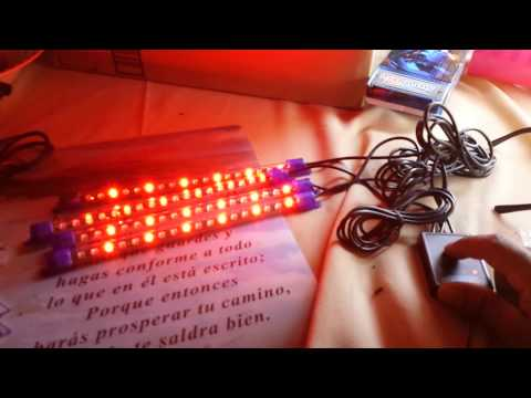 Led neon lights for car interior and exterior