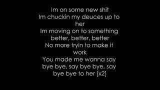 Deuces -Chris Brown Lyrics (Dirty)