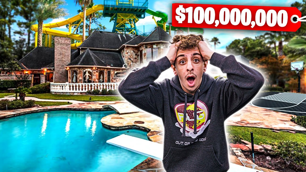 I Went To The Most Expensive House In The World Backyard Waterpark