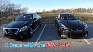 A Date with Mercedes Benz S63 AMG