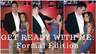 Get Ready With Me: College Formal Edition ll Amanda Louise
